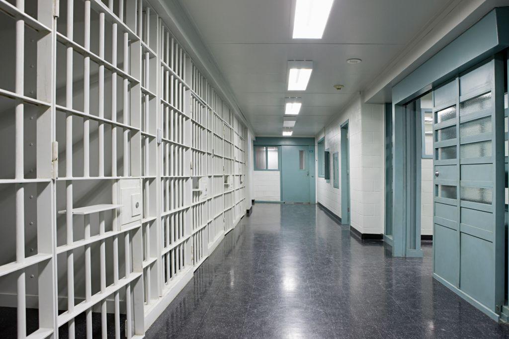 Prison corridor