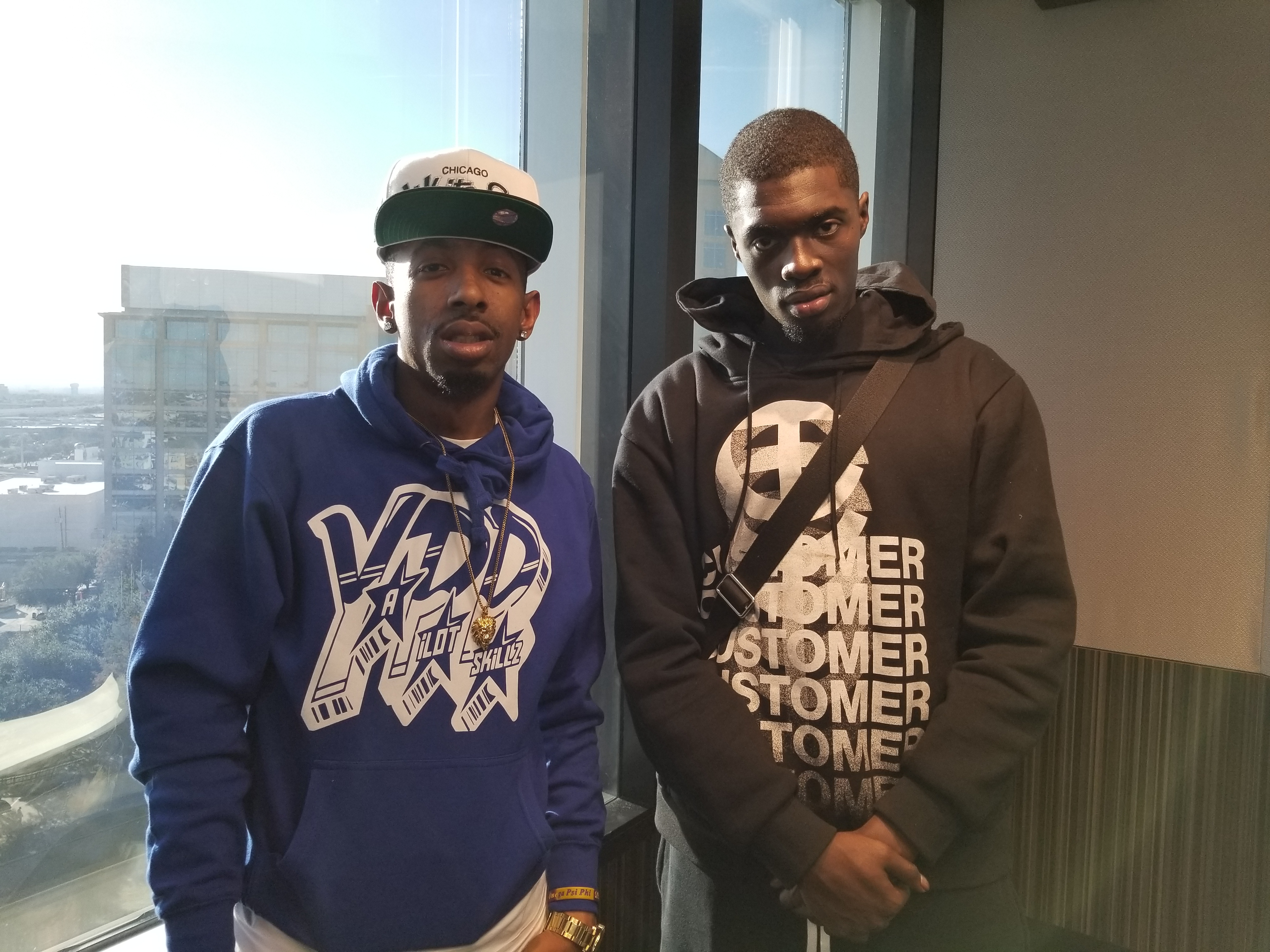 Sheck Wes and P-Skillz