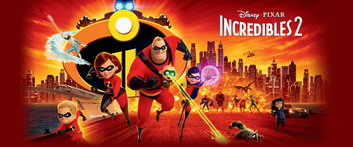 2018 Disney Pixar Incredibles 2 Movie