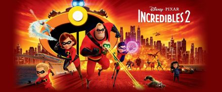 2018 Disney Pixar Incredibles 2 Movie
