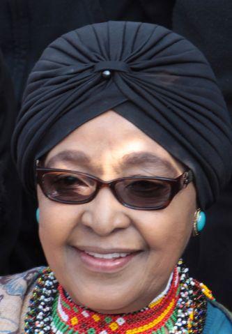 Winnie Madikizela-Mandela from 2014