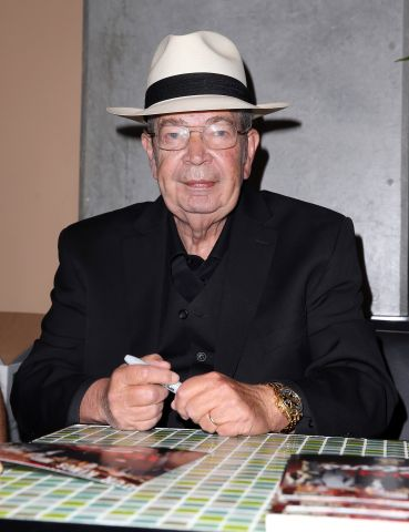 "Richard ""The Old Man"" Harrison Signs Autographs at Rachel's Kitchen"