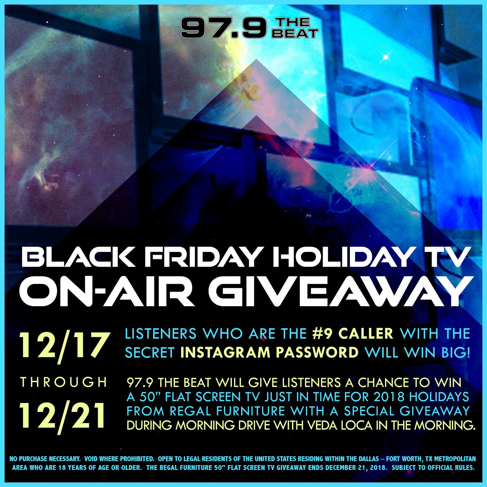 Regal Furniture TV Giveaway