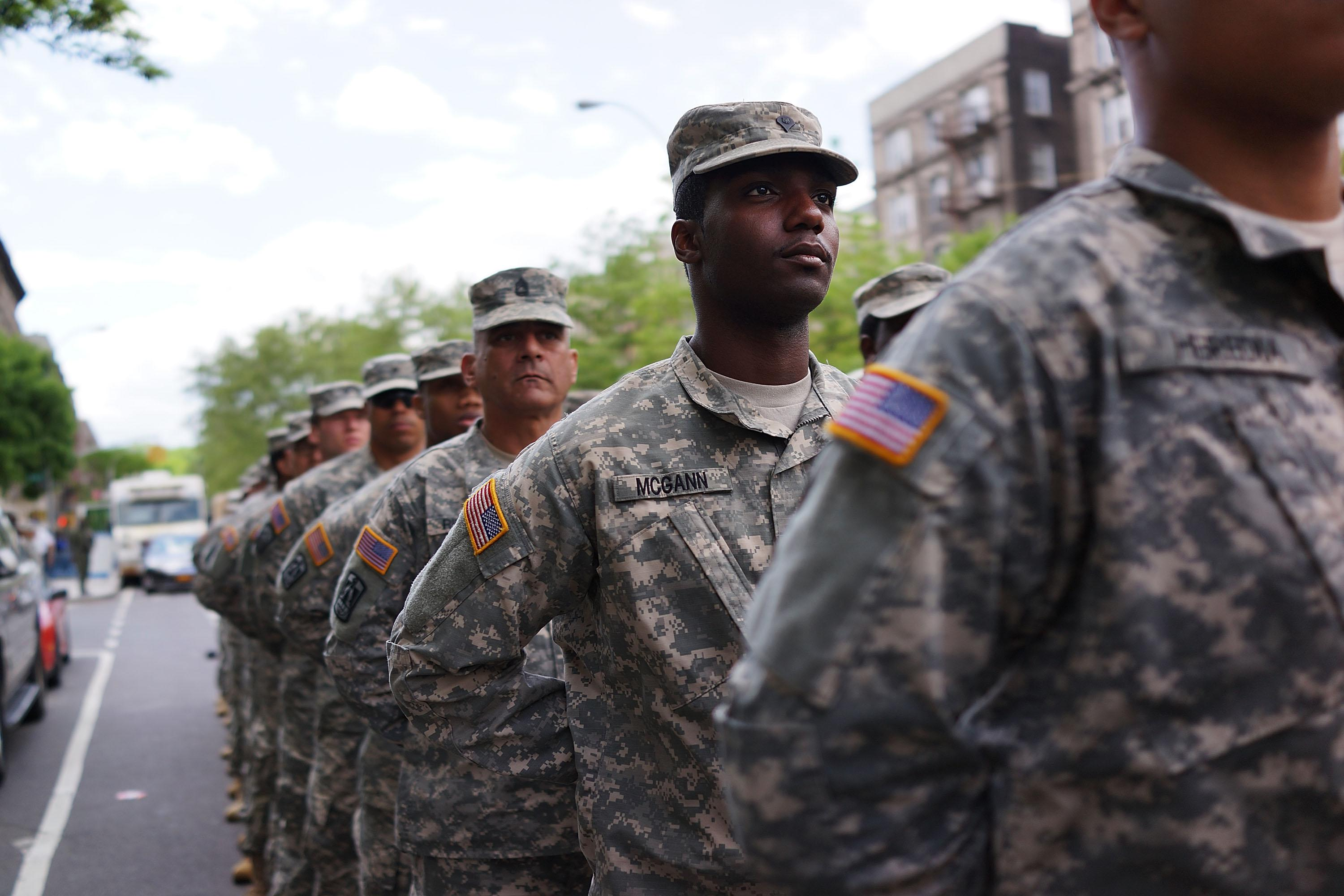 Harlem Parade Honors African-American Army Regiment From WWII