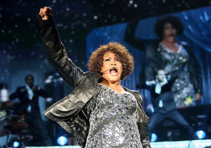 Whitney Houston Performs At Arena Nurnberger