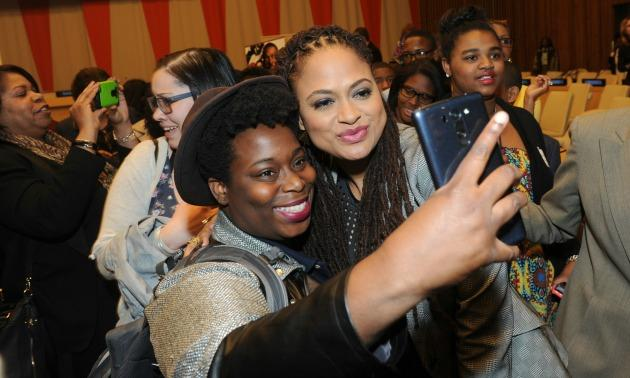 Ava DuVernay & High School Student