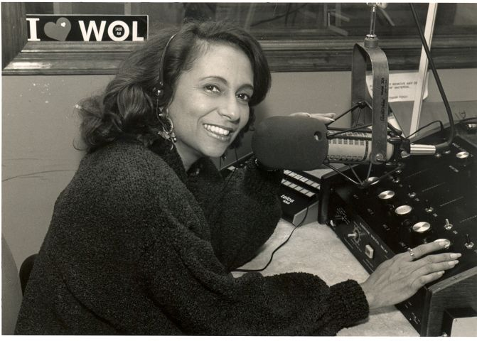Cathy Hughes On-Air at WOL