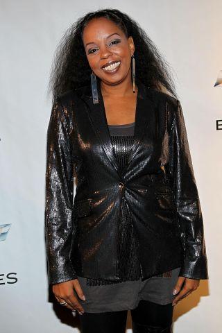 Melanie Fiona Arrives At The Black Girl Rock! & Soul Concert