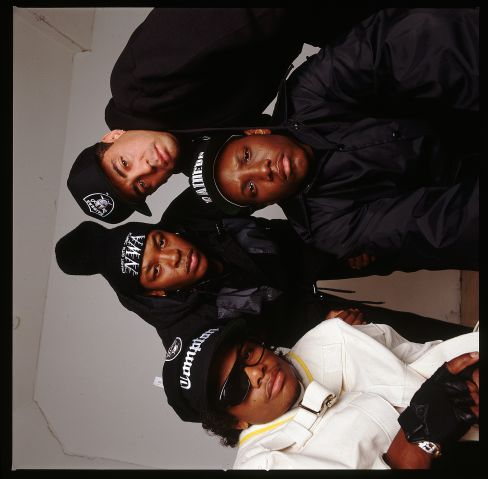 Gangsta Rap Group N.W.A.