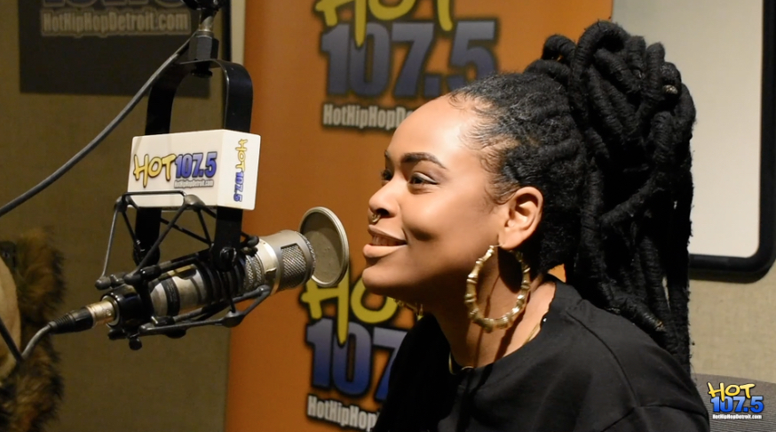 Bri Steves On Hot 107.5