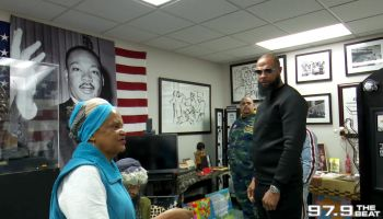 Slim Thug Gets Black History Lesson At The MLK Center In Dallas