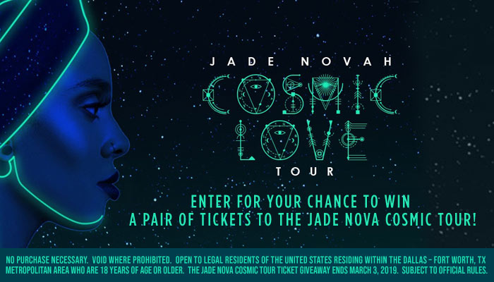 Jade Nova Cosmic Love Tour_RD Dallas_February 2019