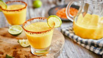 Chili Lime Mango Margaritas