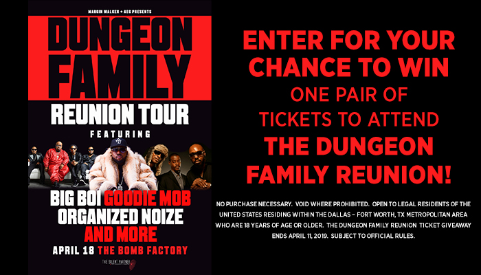 Dungeon Family Reunion_RD Dallas_February 2019