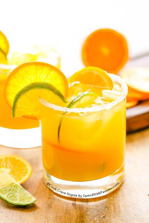 Sunny Orange Margarita