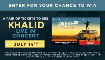 Khalid Live ticket giveaway contest