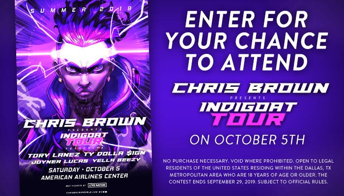 Chris Brown Online Contest