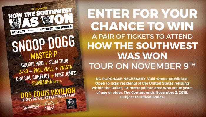 How the Southwest was Won Online Contest_RD Dallas_June 2019
