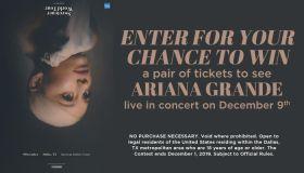 Ariana Grande Online Contest_RD Dallas KBFB_June 2019
