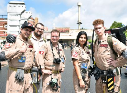 2. Cosplay Day at the Movie Park