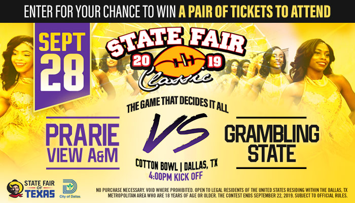Local: State Fair Classic Online Contest_RD Dallas KBFB_August 2019