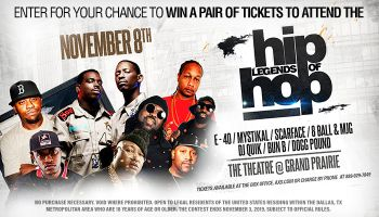 Local: Legends of Hip Hop Online Contest- Majic_RD Dallas Majic KZMJ_August 2019
