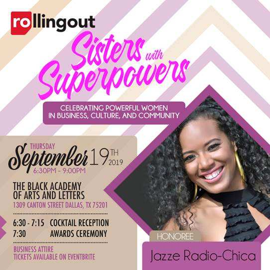 Rolling Out Sisters With Super Powers With Jazze Radio-Chica