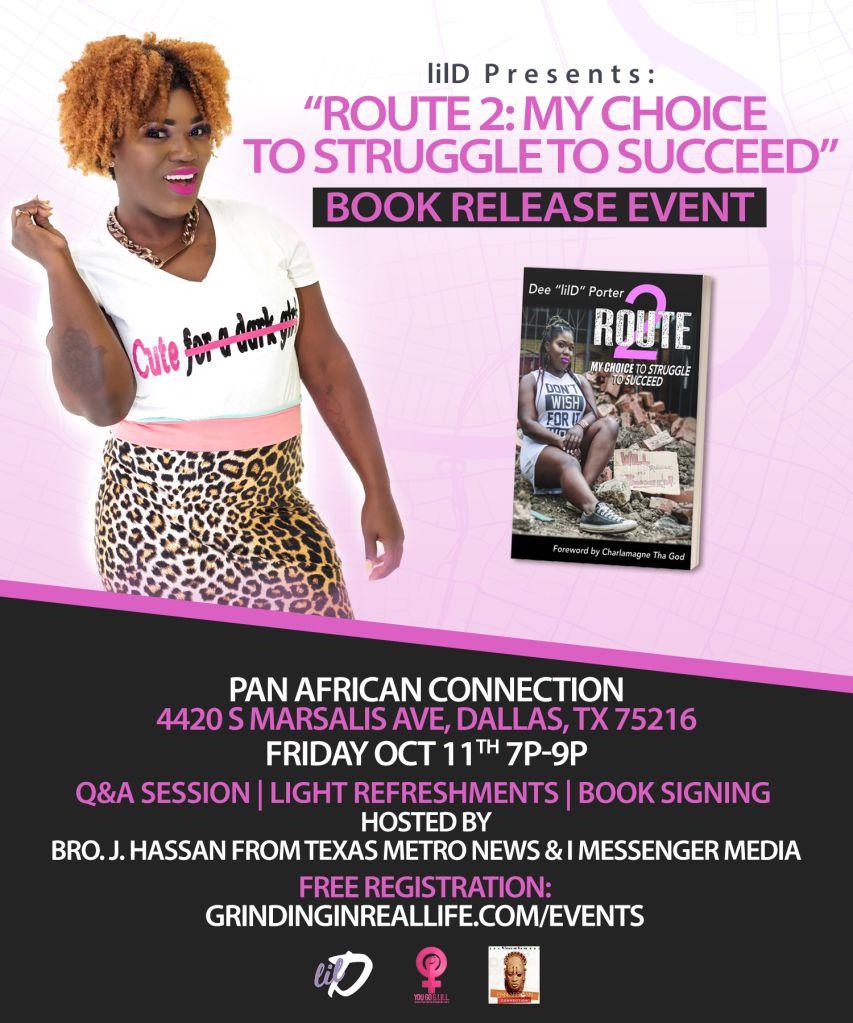 lilD Book Release Event Dallas