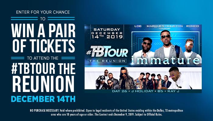 #TBTour the Reunion Contest