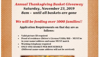 Fort Worth Thanksgiving Giveaway With Councilwoman Kelly Allen Gray
