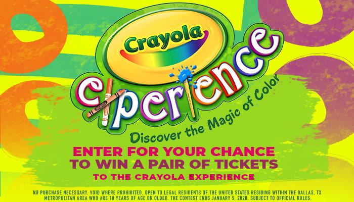 Crayola Experience Online Contest_RD Dallas_November 2019