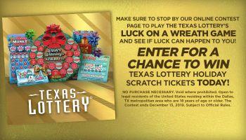 Texas Lottery Holiday Campaign_RD Dallas KBFB_November 2019