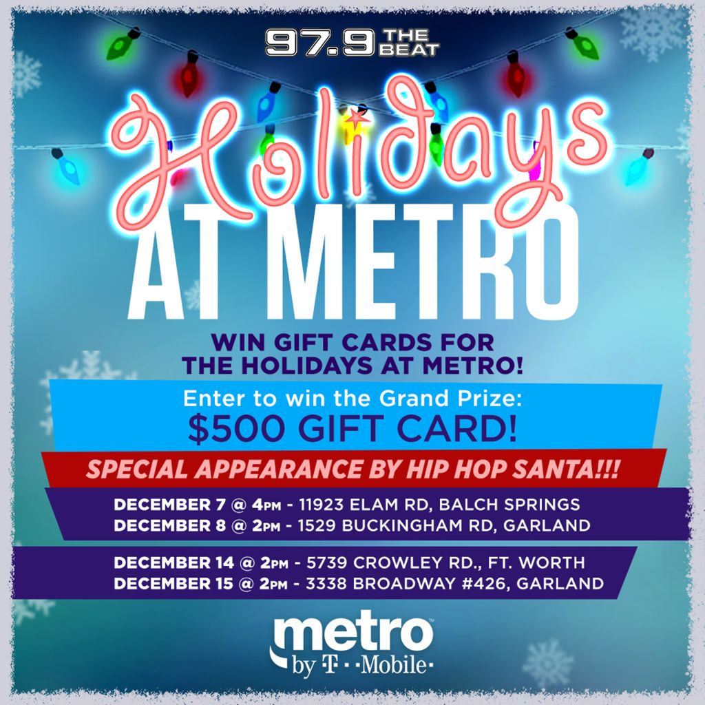 Holidays at Metro by T-Mobile