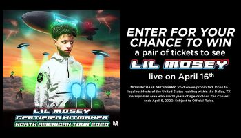 Lil Mosey Online Contest_RD Dallas KBFB_November 2019