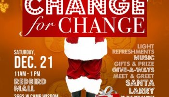 Change For Change Christmas Event