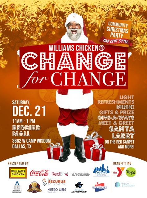 Change For Change Christmas Event