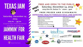 Texas Jam Health Fair