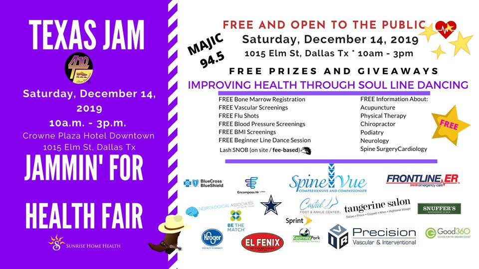 Texas Jam Health Fair