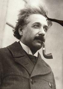 Portrait d'Albert Einstein