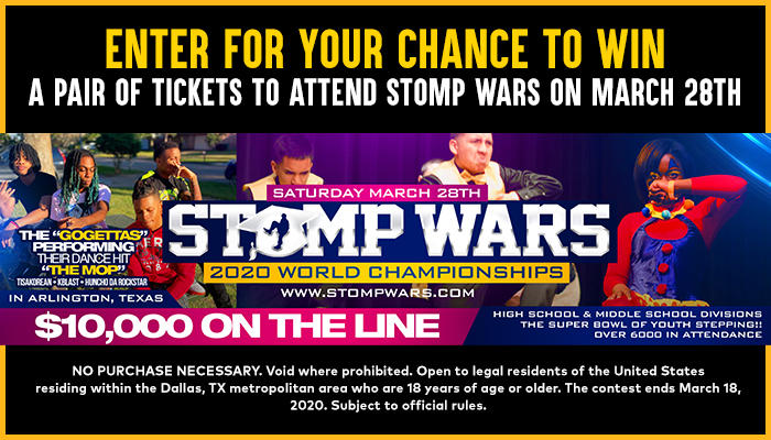 The Stomp Wars contest