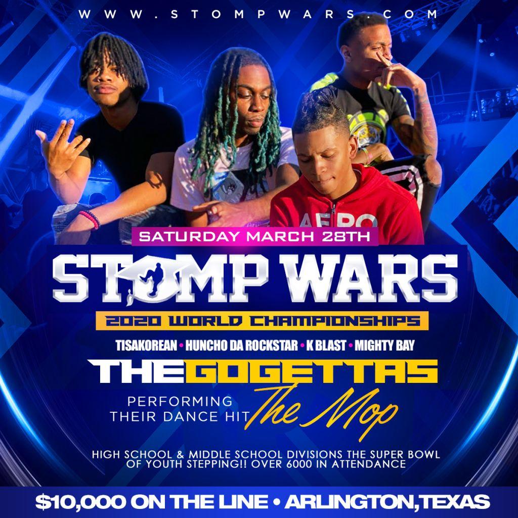 Stomp Wars Flyer