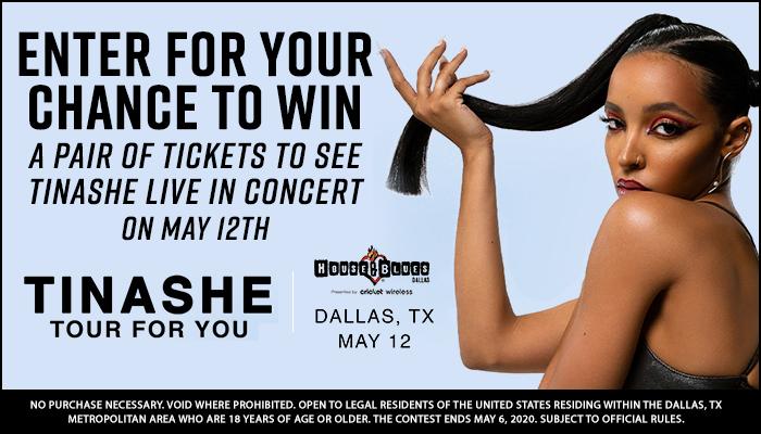 Tinashe Online Contest